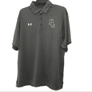 Under Armour Sox Men's Gray Polo Shirt
